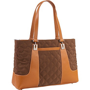 Quilted Collection Top Zip Tote - Tote