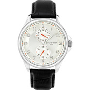 Vintage I Men's Watch - Leather White/Black - Gior