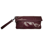 Poppy Chic Diaper Clutch - Eggplant