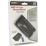 USB 2.0 Card Reader/Writer - Black