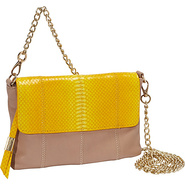 Nimble Crossbody Yellow Snake Combo - Foley + Cori