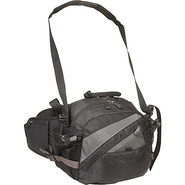 Vortex Lumbar Pack - Gray with Black