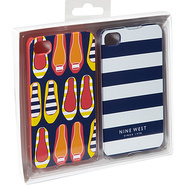 Can't Stop Shopper iPhone 4 Cases 2pk Blue/White -