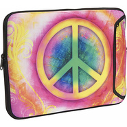 13  Designer Laptop Sleeve - Peace