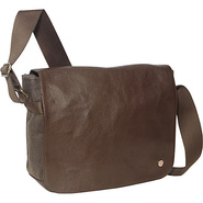 Sheridan Waxed Shoulder Bag (M) Dark Brown - TOKEN