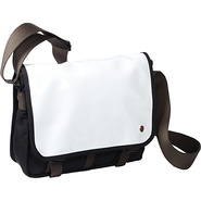 Metropolitan Enamel DJ Bag (S) White - TOKEN Men's