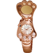 Paw Ladies Watch Rose Gold Dial - Tsumori Chisato 