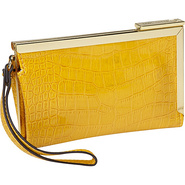 Color Rush Frame Wristlet Goldenrod - Anne Klein L