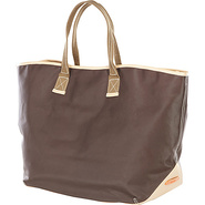 Carina Large Tote - Cafe