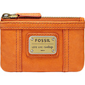 Emory Zip Coin Light Orange - Fossil Ladies Key/Ca