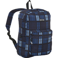 Ivy Backpack - Tartan Navy