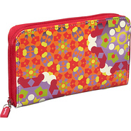 Presents Tepper Jackson Zip Wallet Kaleidoscope - 