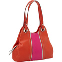 Prep School Triple Entry Tote Papaya/Cosmo - Tigna