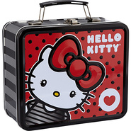 Hello Kitty Big Bow Lunchbox Red/Multi - Loungefly