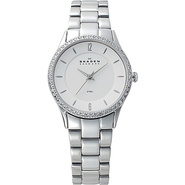 Silver Tone Steel Link Watch Silver - Skagen Watch