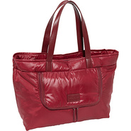 Amandine Zipped Tote Burgundy - SEE by Chloe Desig