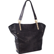 Intreccio Tote Black - Elliott Lucca Leather Handb