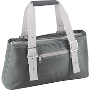 Alexis Insulated Lunch Tote - Silver/Gray