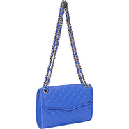 Diamond Quilted Mini Affair Shoulder Bag Periwinkl
