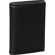 Hamilton Trifold Wallet Black - Geoffrey Beene Men