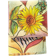 Mini Coffee Break Wallet - Sunflower Safari Sunflo