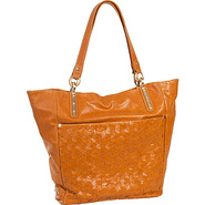 Intreccio Tote Ochre - Elliott Lucca Leather Handb