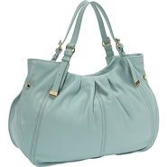 Blanca Tote LAKE - Perlina Leather Handbags