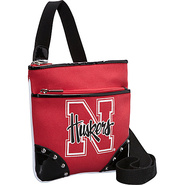 Nebraska Huskers Cross Body Bag Red - Ashley M Fab