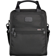 Alpha Medium Travel Tote Black - Tumi Non-Wheeled
