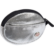 Leather Token Coin Purse Silver - TOKEN Ladies Sma