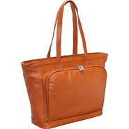Cosmopolitan Leather Tote - Sienna