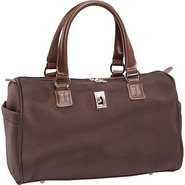 Chelsea Lites 16  Satchel Tote Chocolate - London