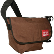 Vintage Messenger Bag Dark Brown - Manhattan Porta