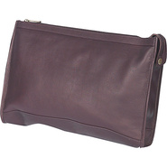 Zippered Folio Pouch - Cafe