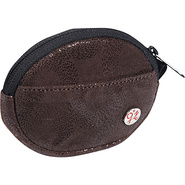 Leather Token Coin Purse Dark Brown - TOKEN Ladies