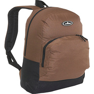 Classic Backpack with Organizer - Brown/Black