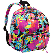 Fly Bird Backpack Black - Roxy Fabric Handbags