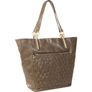 Intreccio Tote Olive - Elliott Lucca Leather Handb