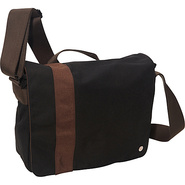 Astor Shoulder Bag (M) W Black/Dark Brown - TOKEN