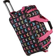 22  Rolling Duffle Bag - Butterfly