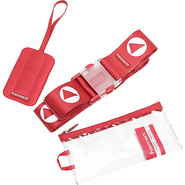 Frommer's Bravo Belt+Tag Set - Crimson Red