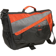Velocity Nylon Messenger Bag - Terra Cotta