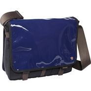 Metropolitan Enamel DJ Bag (M) Royal Blue - TOKEN