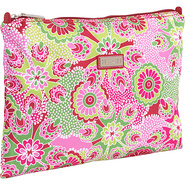 Large Zippered Carry All - Jazz Ruby