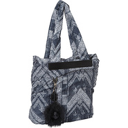 Joy Rider Tote Bag Black Yoko Print - SEE by Chloe