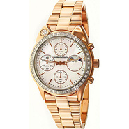 Big Cat Ladies Watch Light Pink Dial; Rose Gold Ba
