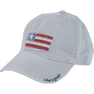 Boys Tattered Chill Cap Simply Lt. Gray-M/L - Life