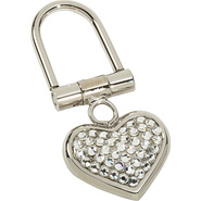 Small Heart Key Chain - Crystal