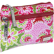 Coated Jewelry Pouch - Jazz Ruby