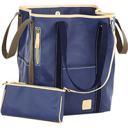 Carina Two-Face Tote - Indigo